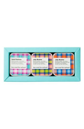 Too Cool For School Jelly Blusher & Solid Perfume Trio - None