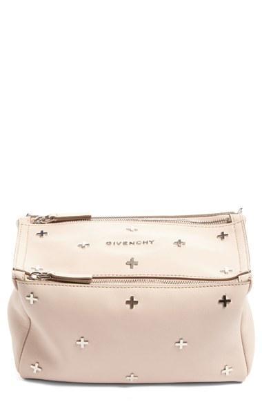 Givenchy Mini Pandora Studded Leather Crossbody Bag -