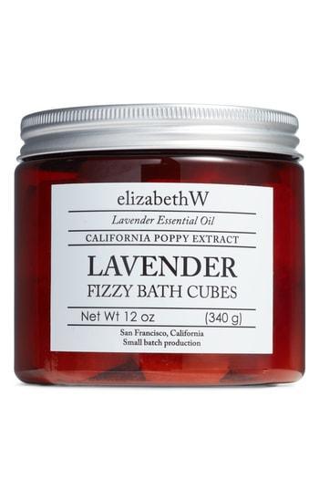Elizabethw Lavender Fizzy Bath Cubes