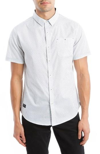 Men's 7 Diamonds Colossus Woven Shirt - White