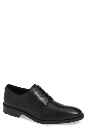 Men's Lloyd Gala Plain Toe Derby M - Black