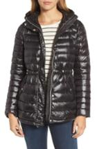 Women's Vince Camuto Hooded Down Jacket - Black