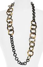 Women's L. Erickson 'madison' Link Station Necklace