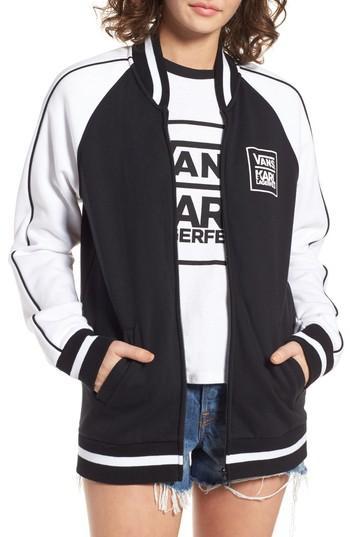 Women's Vans X Karl Lagerfeld Bomber Jacket