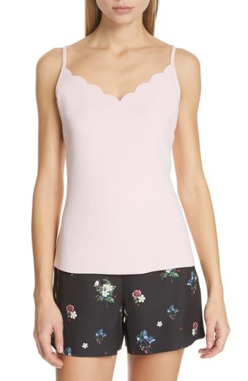 Women's Ted Baker London Siina Scallop Camisole - Pink
