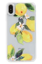 Casetify Watercolor Lemon Clear Grip Iphone X/xs, Xr & X Max Case -