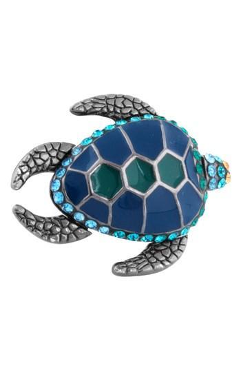 Men's Tateossian Mechanimal Turtle Pin