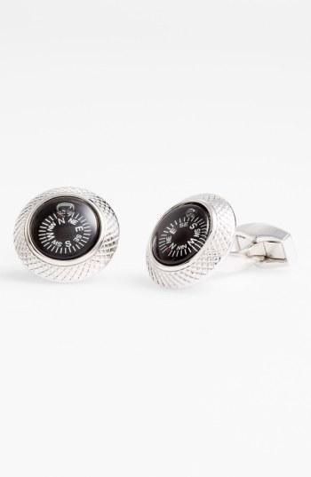 Men's Tateossian 'compass' Cuff Links