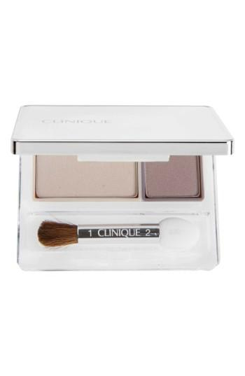 Clinique All About Shadow Eyeshadow Duo - Twilight Mauve/brandied