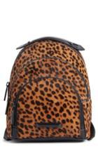 Kendall + Kylie Mini Sloane Genuine Calf Hair & Leather Backpack - Metallic