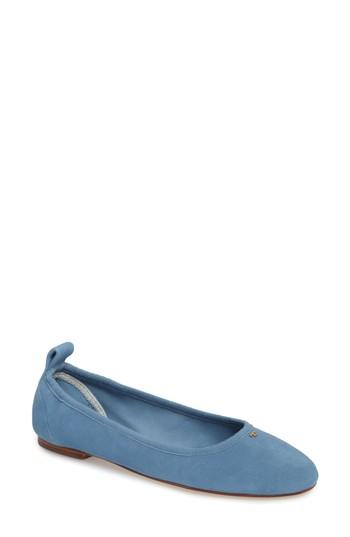 Women's Tory Burch Therese Ballet Flat M - Blue
