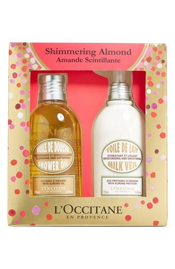 L'occitane 'shimmering Almond' Deluxe Duo (limited Edition) ($65 Value)