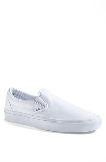 Men's Vans Classic Slip-on M - White