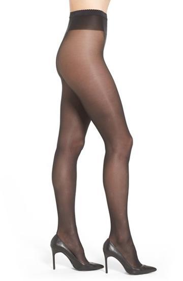 Women's Wolford 'neon 40' Pantyhose - Black