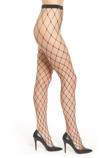 Women's Wolford 'kaylee' Fishnet Tights