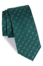 Men's The Tie Bar Medallion Scene Silk & Linen Tie