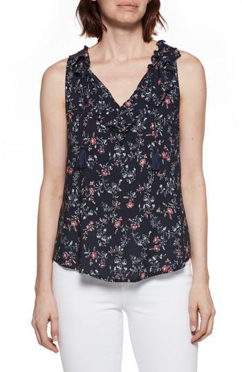 Women's Paige Paletta Floral Print Top - Blue