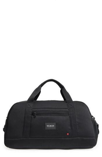 State Bags Franklin Neoprene Duffel Bag - Black