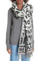 Women's Stella Mccartney All Is Love Wool & Cashmere Scarf