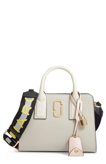 Marc Jacobs Little Big Shot Leather Tote - Ivory