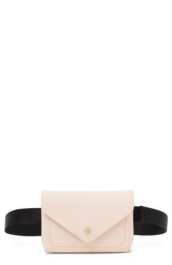 Botkier Vivi Calfskin Leather Convertible Belt Bag -