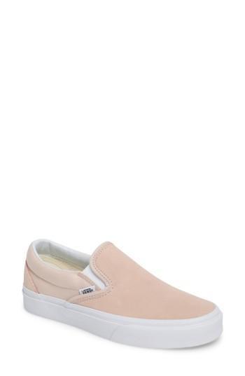 Women's Vans Classic Slip-on Sneaker M - Burgundy