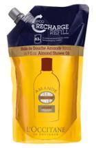 L'occitane 'almond' Eco-refill Shower Oil .9 Oz