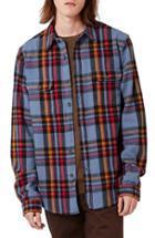 Men's Topman Plaid Flannel Shirt