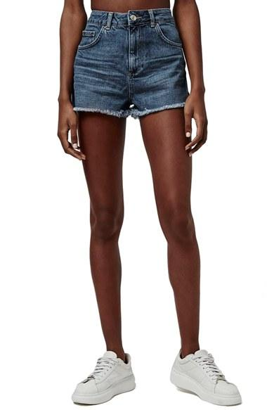 Women's Topshop Cutoff Denim Shorts