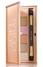 Estee Lauder Soft Coral Eyeshadow Palette - No Color