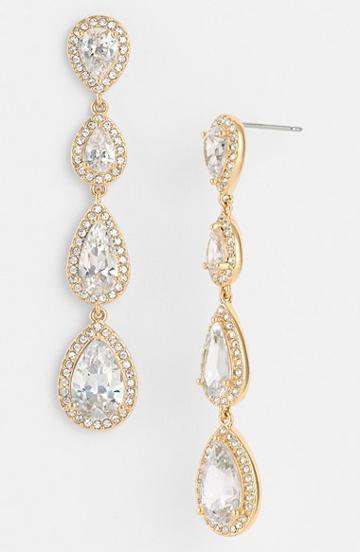 Women's Nadri Linear Earrings