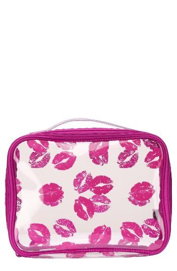 Steph & Co. 'berry Kiss' Travel Cosmetics Case, Size - No Color
