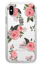 Casetify Pink Floral Impact Iphone X Case - Pink