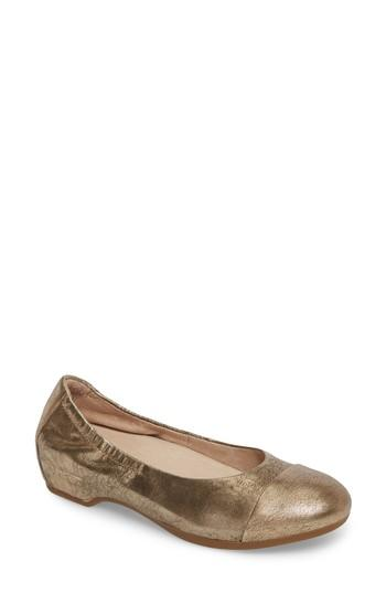 Women's Dansko Lisanne Flat .5-6us / 36eu M - Yellow