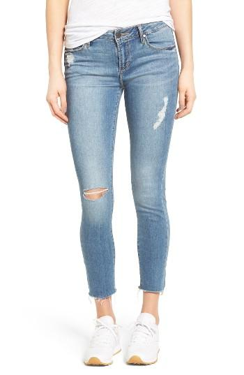 Women's Articles Of Society Carly Skinny Crop Jeans - Blue