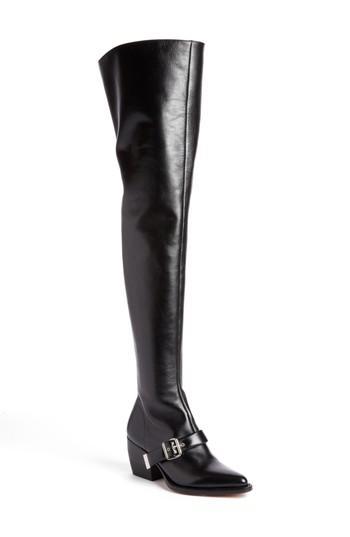 Women's Chloe Rylee Over The Knee Boot Us / 40eu - Black