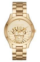 Women's Michael Kors Slim Runway Lion Bracelet Watch, 42mm
