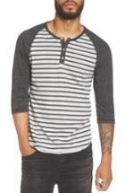 Men's Alternative Raglan Henley Shirt