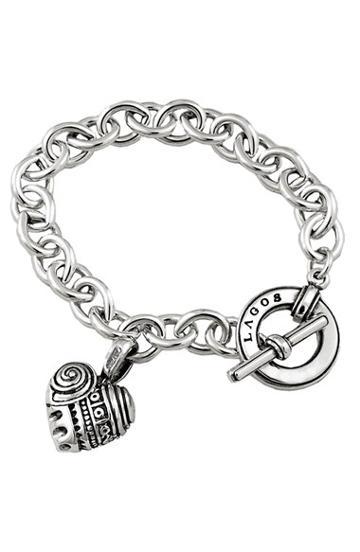 Women's Lagos 'hearts Of Lagos' Charm Bracelet