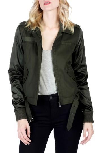 Women's Paige Sheryl Bomber Jacket - Green
