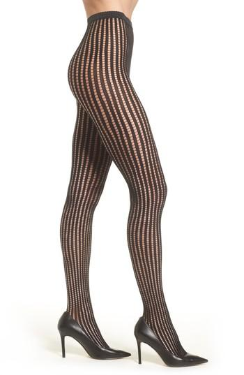 Women's Wolford Janis Tights - Black