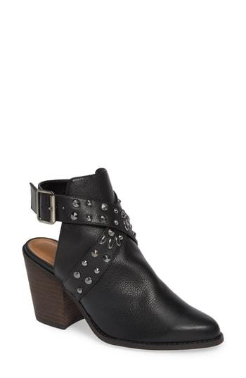 Women's Chinese Laundry Small Town Studded Bootie M - Black