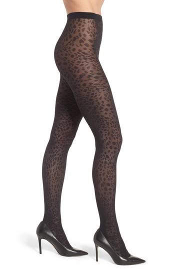 Women's Wolford Avril Tights - Black