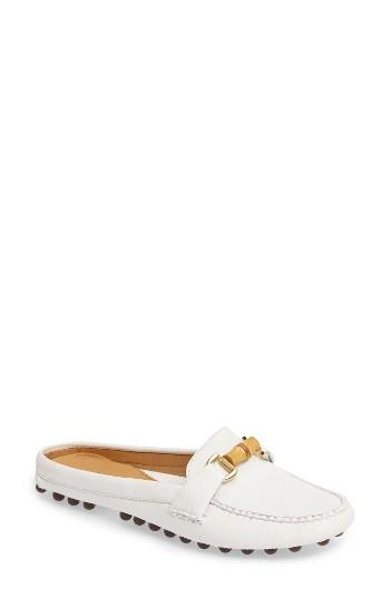 Women's Patricia Green Island Bamboo Slide Loafer M - White