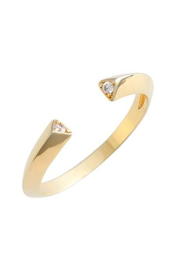 Women's Jules Smith Pave Triangle Ring