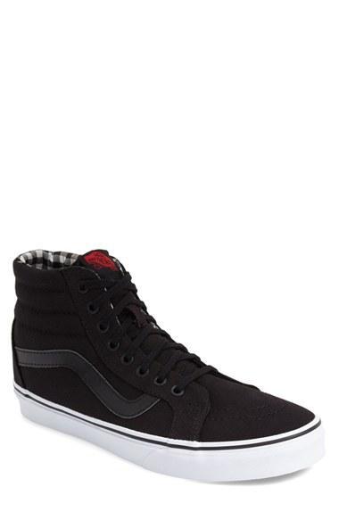 Men's Vans 'sk8-hi Reissue' Sneaker .5 M - Black