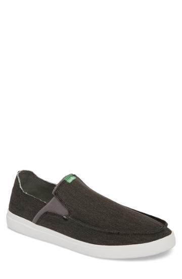 Men's Sanuk Pickpocket Slip-on Sneaker .5 M - Grey