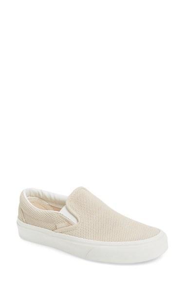 Women's Vans 'classic' Perforated Slip-on Sneaker
