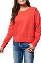 Women's Frank & Eileen Tee Lab Distressed Sweatshirt - Red