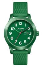 Women's Lacoste 12.12 Silicone Strap Watch, 32mm